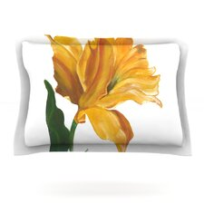Yellow Tulip by Lydia Martin Pillow Sham