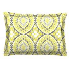 Yellow Tessellation by Miranda Mol Pillow Sham