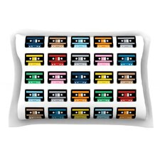 Rainbow Tapes by Project M Featherweight Pillow Sham