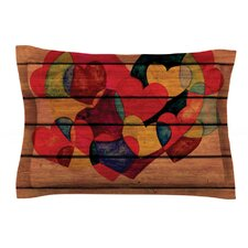 Wooden Heart by Louise Machado Pillow Sham