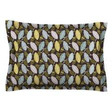 Moss Canopy by Julie Hamilton Featherweight Pillow Sham