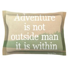 Adventure by Rachel Burbee Pillow Sham