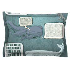 Whale Talk by Sophy Tuttle Pillow Sham