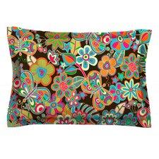 My Butterflies & Flowers by Julia Grifol Pillow Sham