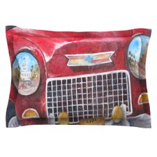 Vintage in Cuba by Rosie Brown Featherweight Pillow Sham