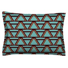 Deco Angels Choco Mint by Nina May Pillow Sham