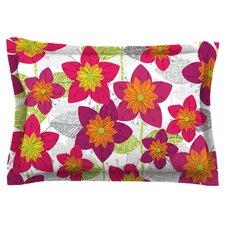 Star Flower by Jacqueline Milton Featherweight Pillow Sham