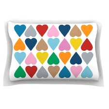 Diamond Hearts by Project M Pillow Sham