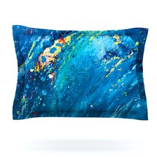 Big Wave by Theresa Giolzetti Pillow Sham