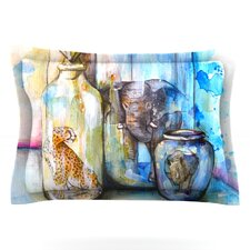 Bottled Animals by Kira Crees Featherweight Pillow Sham