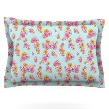 Paper Flower by Laura Escalante Pillow Sham