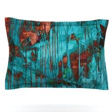 Rusty Teal by Iris Lehnhardt Pillow Sham