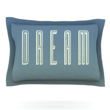 Dream Print by Galaxy Eyes Pillow Sham