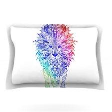 Rainbow Lion by Monika Strigel Featherweight Pillow Sham