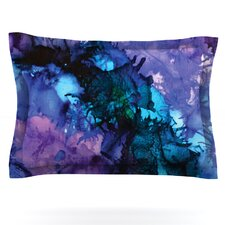 "Claire Day ""Soul Searching"" Purple Blue Featherweight Sham"