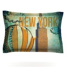 New York by iRuz33 Pillow Sham
