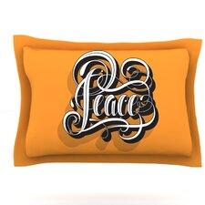 Peace by Roberlan Featherweight Pillow Sham