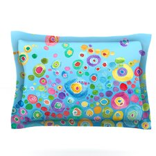 Inner Circle Blue by Catherine Holcombe Pillow Sham