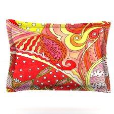 Swirls by Rosie Brown Featherweight Pillow Sham