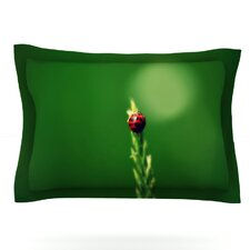 Ladybug Hugs by Robin Dickinson Pillow Sham