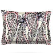 Inky Paisley Bloom by Sonal Nathwani Pillow Sham