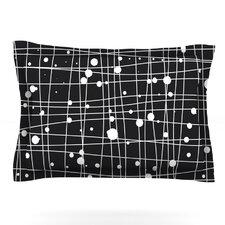 Woven Web Mono by Budi Kwan Woven Pillow Sham
