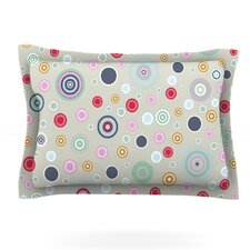 Circle Circle I by Suzanne Carter Featherweight Pillow Sham