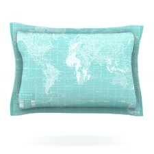 Welcome to my World by Catherine Holcombe Pillow Sham