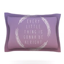 Little Thing by Galaxy Eyes Pillow Sham