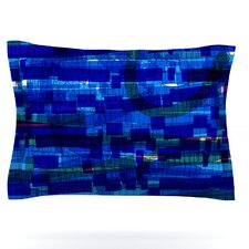 Squares Traffic by Frederic Levy-Hadida Featherweight Pillow Sham