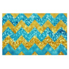 Blueberry Twist Chevron Doormat