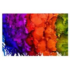 Rainbow Splatter Doormat