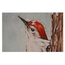 Downy Woodpecker Doormat