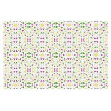 Neon Triangles Doormat