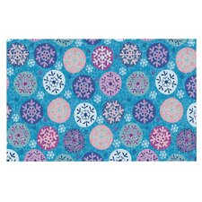 Floral Winter Doormat