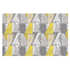 Linford Yellow and Gray Doormat