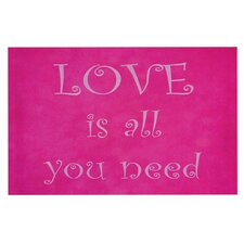Love is all you need Doormat