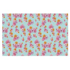 Paper Flower Doormat