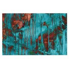 Rusty Teal Doormat