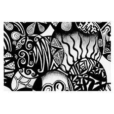 Circles and Life Doormat