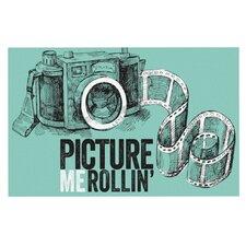 Picture Me Rollin Doormat