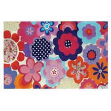 Patchwork Flowers Doormat