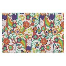 Printemps Flowers Doormat