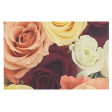 Vintage Roses Doormat