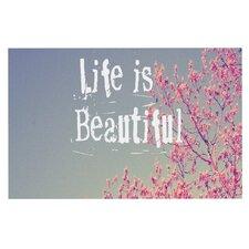 Life is Beautiful Doormat