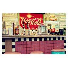 Deco Retro Diner Coca Cola Doormat