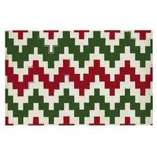 Christmas Gram Chevron Doormat