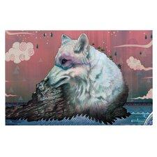 Lone Wolf Doormat