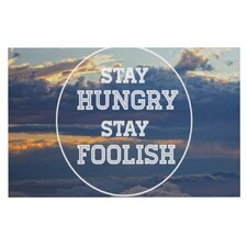 Stay Hungry Doormat