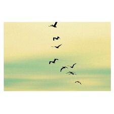 Across The Endless Sea Birds Doormat